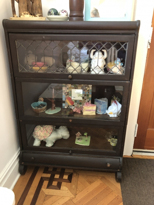 Antique Lundstrom Barrister S Bookcase